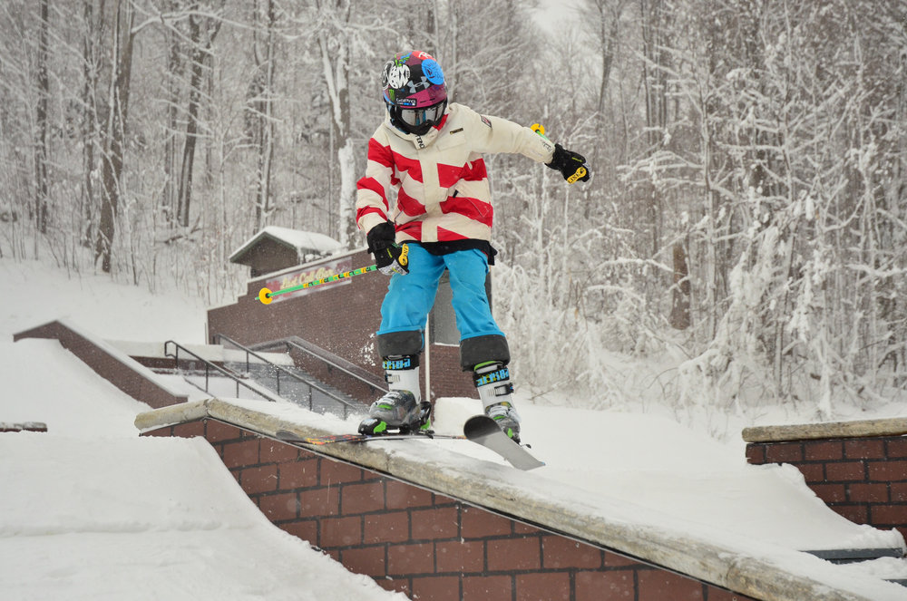 The Streets Urban Terrain Park - © Seven Springs
