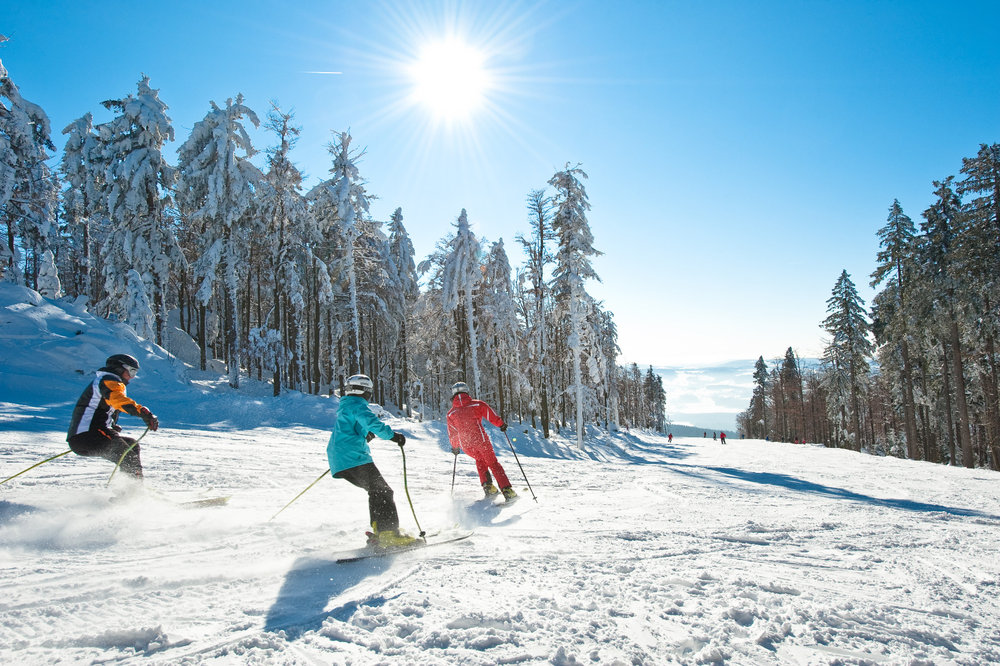 Hochficht ski resort in the Bohemian Forest - © OÖ.Tourismus/Erber