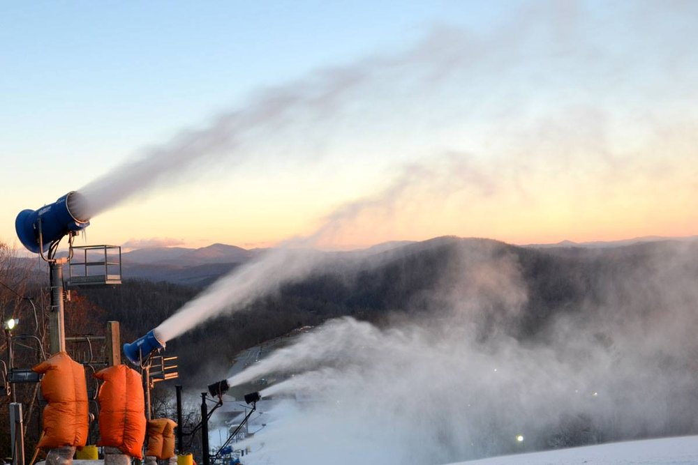 Snowmaking sets up Mid-Atlantic resorts for Thanksgiving Openings. - ©Appalachian Mountain