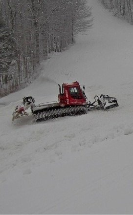 Grooming the slopes
