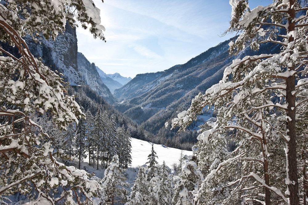 Landschaft in Samnaun - © Andrea Badrutt