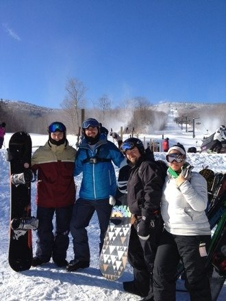 Came from California for a family reunion at the salt ash inn (great bnb) over thanksgiving and I must say killington was phenomenal for early season conditions. They are blowing a ton a snow!!! There were plenty of runs, lots of powder spots, little ice & even superstar express was open. Very impressed! Love the beast