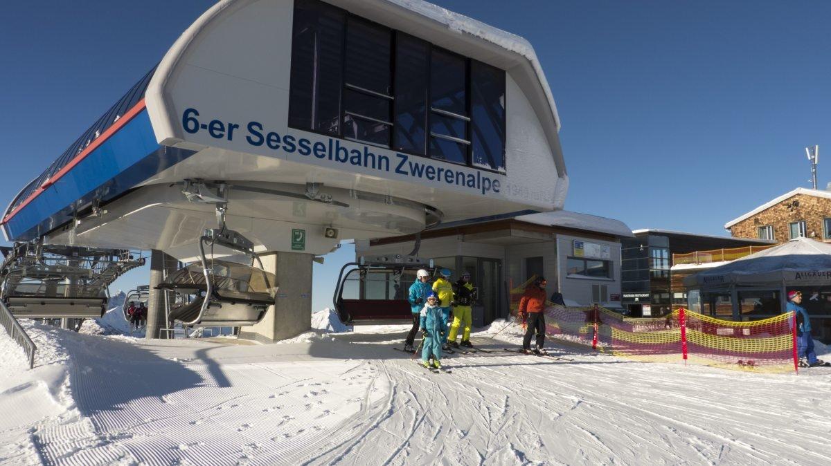 Die Bergstation der Zwerenalpbahn - © DAS HÖCHSTE - Bergbahnen Oberstdorf/Kleinwalsertal, Fotograf: Jennifer Tautz