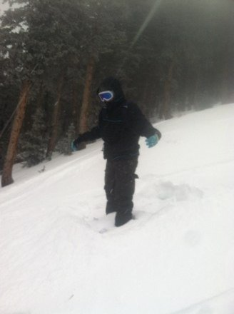 Snow bowl got dumped on today, powder for days!!