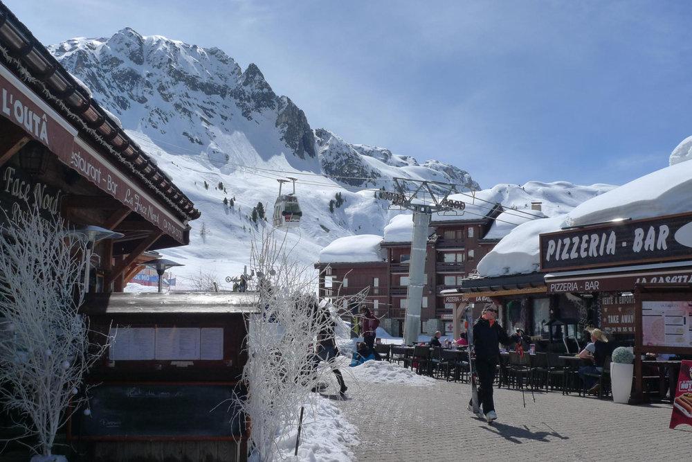 Im Skigebiet La Plagne - © Heidi Seifert