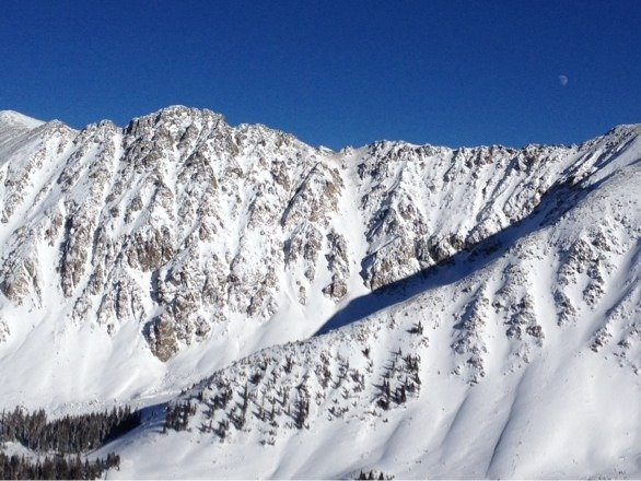 Ridiculously beautiful day at the Basin..Pali and the Alleys skied great!!!
