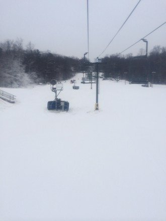 Alpine and tubing area open for skiing. Great conditions!!!