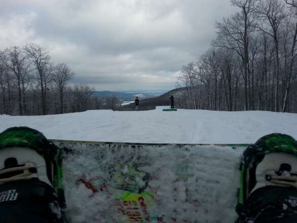 Awesome conditions for opening weekend and tons of features out