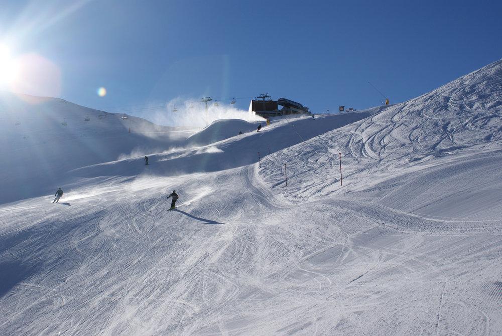 """Das """"Alpe Trida"""" Gebiet bietet hervorragende Strecken für Carver - © Gernot Schweigkofler"""