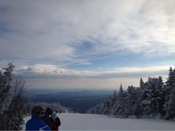 Good day today some powder spots but pretty icey