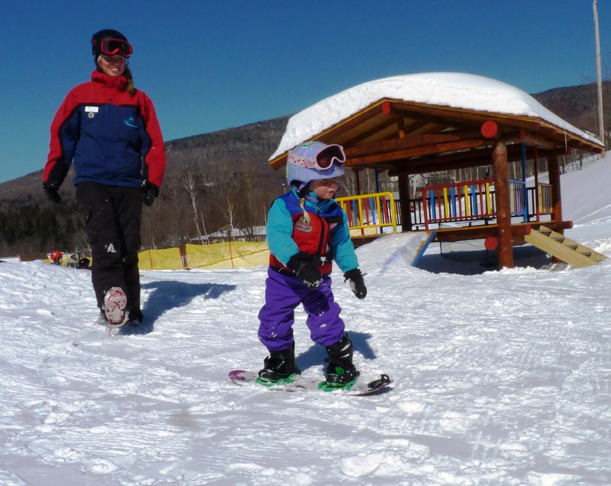 Learning starts early at the Riglet Park at Smuggs. - © Smugglers' Notch Resort