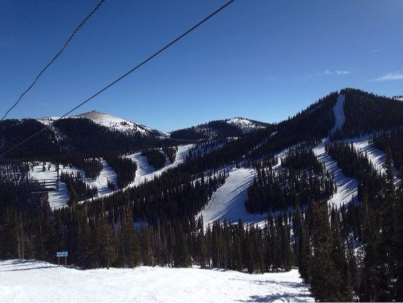 My hometown mountain!  It was an awesome day. Snow is in good shape. Hopefully more soon!!!
