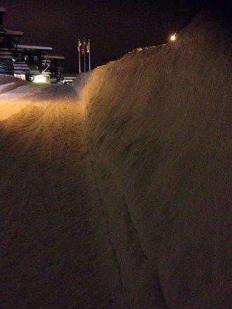 Mye snø på stølen nå!