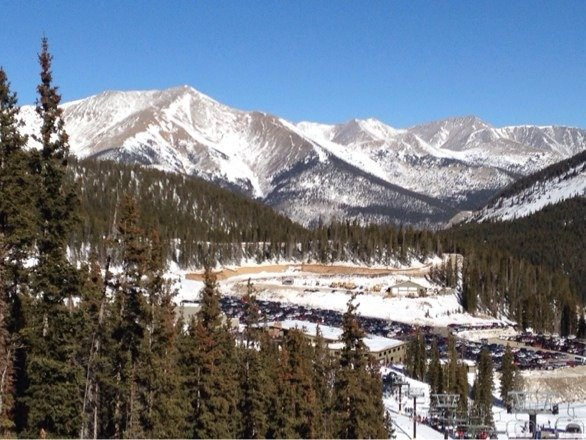 What an awesome day!!  Hats off to the groom crew. Bluebird sky's and snow on the way!