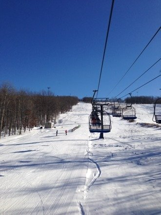 Awesome conditions and NO LINES for a Saturday!