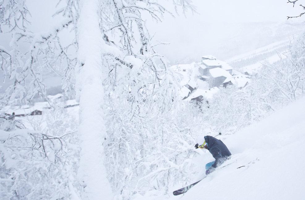 Mer enn nok snø i Hemsedal. - © Kalle Hägglund