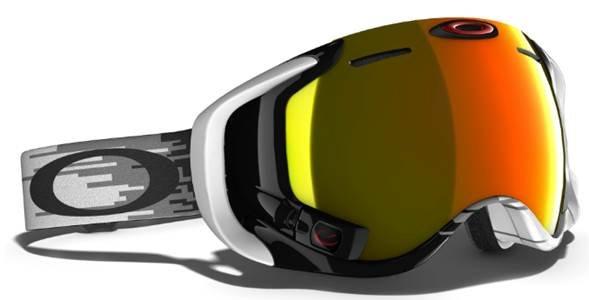 High-tech lyžiarske okuliare Oakley Airwave 1.5 - © http://www.oakley.com/