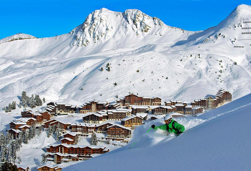Plenty of awesome off-piste in La Plagne - © P. Royer / OT la Plagne