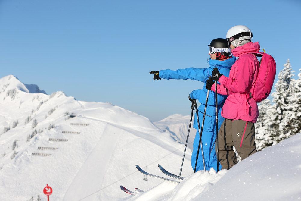 Im Kleinwalsertal herrschen für Freerider oft perfekte Bedingungen - © Kleinwalsertal Tourismus