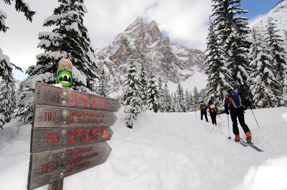 Skitour im Hochpustertal - © Norbert Eisele-Hein
