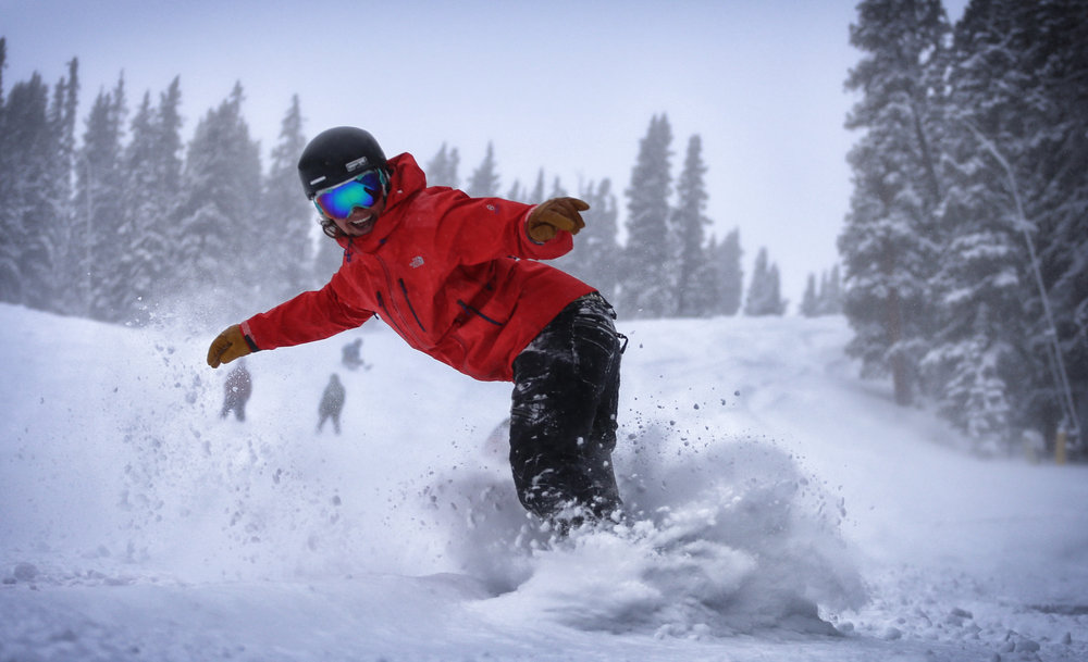 All smiles on a Copper powder day! - © Tripp Fay
