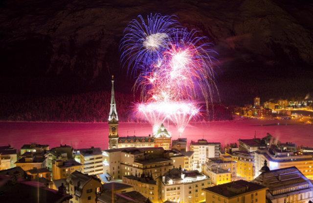 St. Moritz town - © swiss-image.ch/Christof Sonderegger