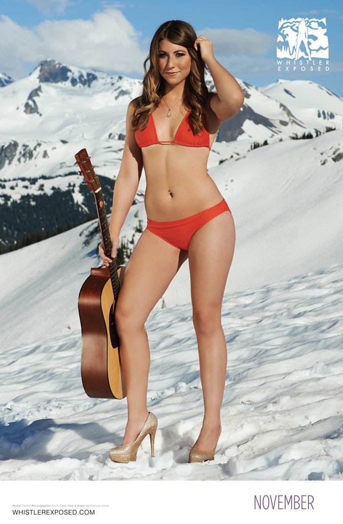 Whistler Exposed Bikini Calendar: September