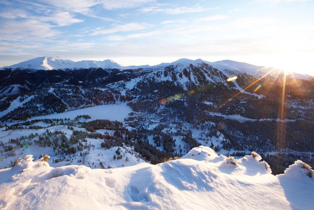 Sonnenaufgang auf der Turracher Höhe - © Hotel Hochschober