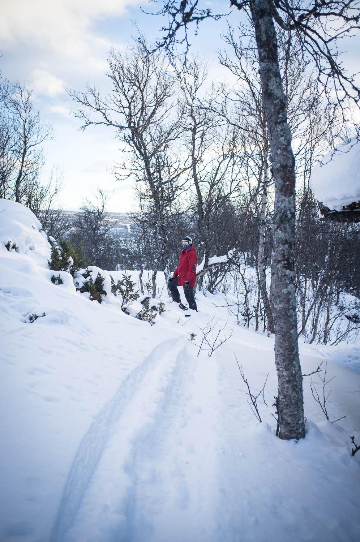 Det er fort gjort å kjøre seg fast i skogen. - © Eirik Aspaas