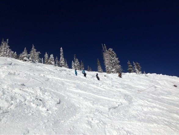 Epic day, bowls and trees are deep!!