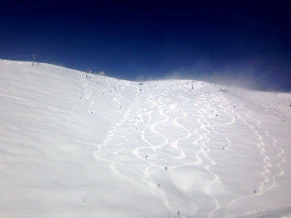 Great skiing. Huge lines!