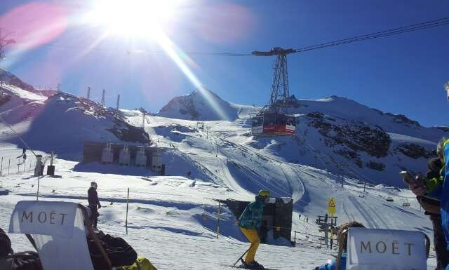 epic day arrived yesterday snow's still good