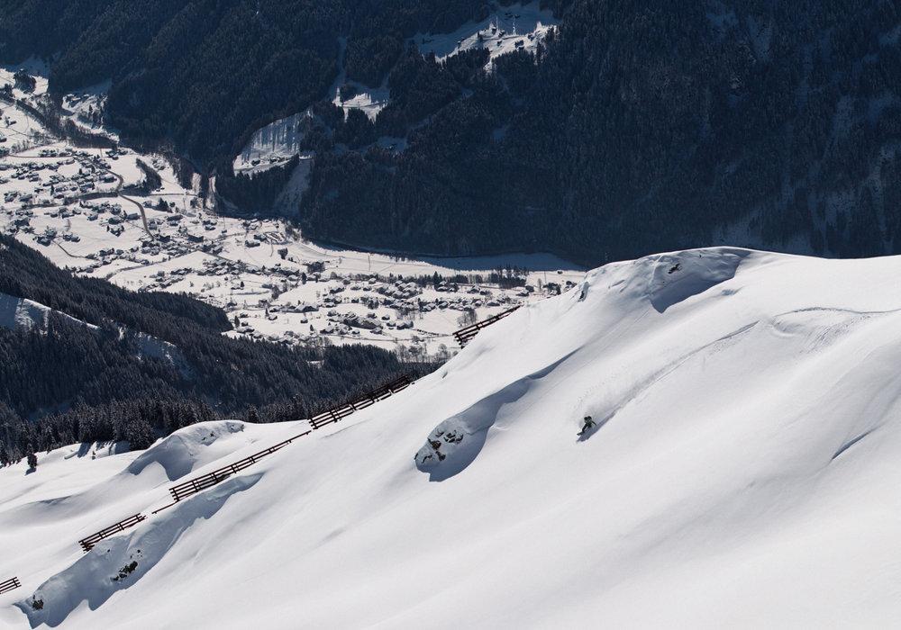 Silvretta Montafon: Der Freeride-Hotspot zum Snowboarden im wilden Westen Österreichs hoch über Gaschurn im Montafon - © Silvretta Montafon