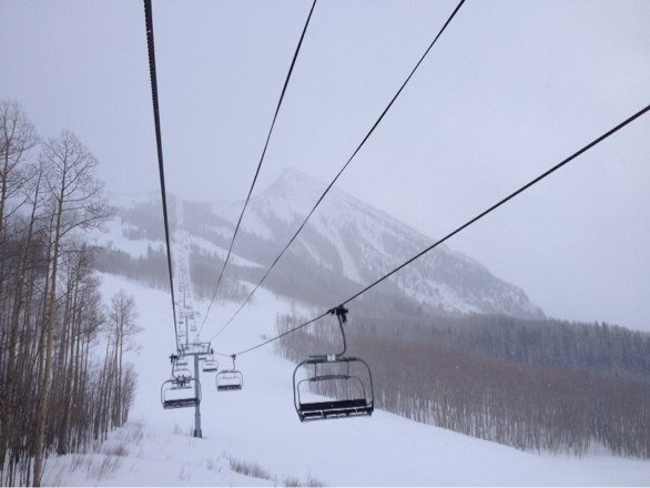 Nice steeps and soft snow. Windy Sunday am but off/on snow in afternoon was perfect
