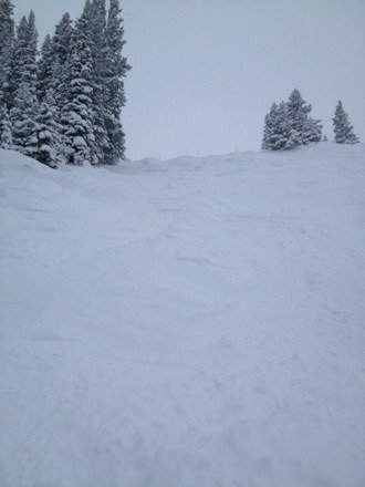 Epic day again!  Powder everywhere.  No lift lines.  3ft deep in some tree areas