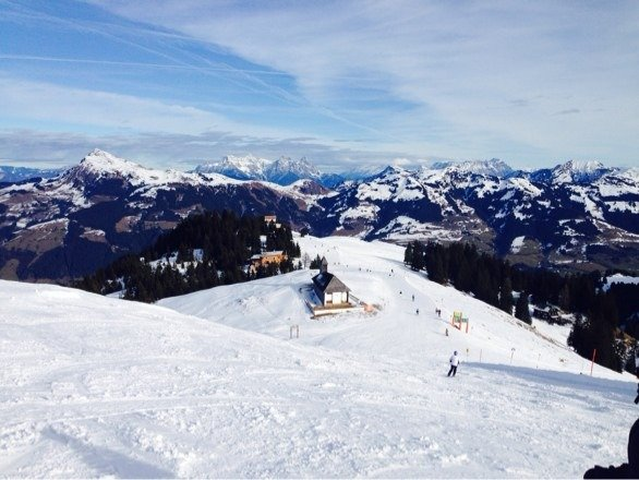 Love Kitzbuhel, great skiing even though the snow was thin. Sporthotel Reisch is a must if visiting, great food, great hotel !