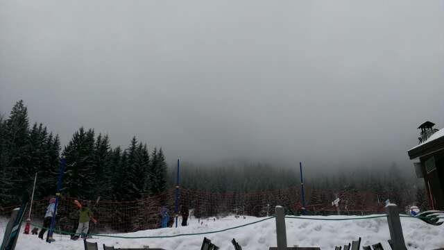 poor visibility today, hoping for a better day tomorrow