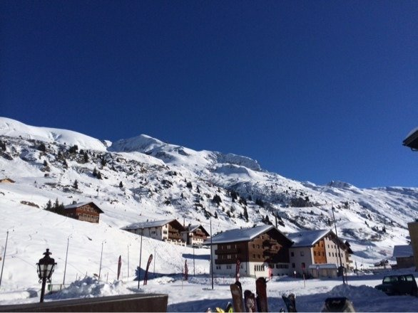 What a great day in the Alps