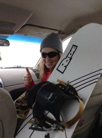 I love snowboarding!!! ; )
