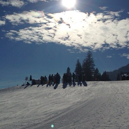 Awesome day at Tam. Freshies!!
