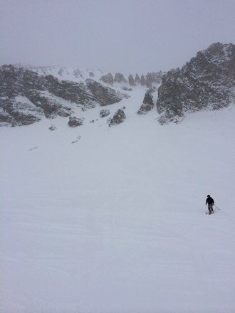 This place has some of the best patrolled terrain in the world. No lines or attitude like jh. Great lines in trees off challenger. Lower pinnacles had untouched knee deep fluff.  I like!!!
