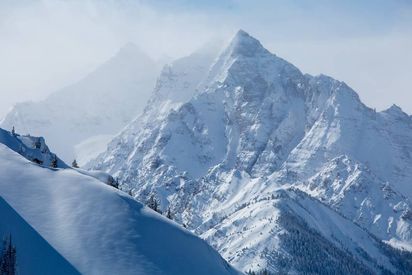 Pounds of powder in Aspen, February 2014 - © Aspen/Snowmass