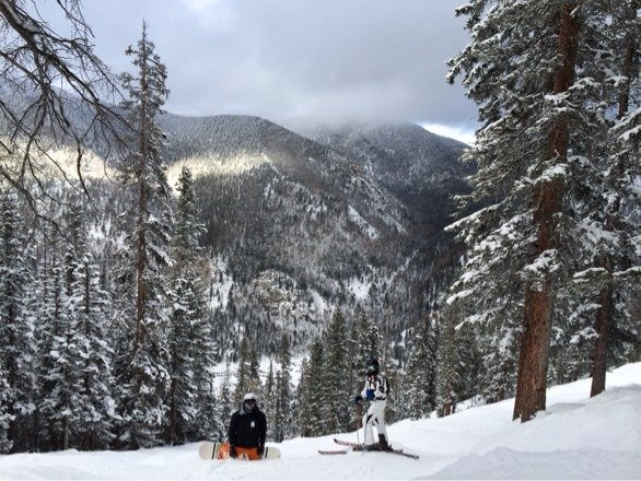 friday had plenty of fresh off lift 7 and 4. trees untouched. no lift lines. need more runs open theres plenty of snow