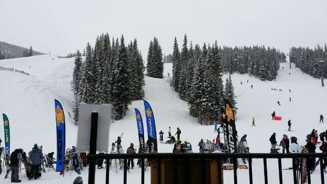 fresh powder. awesome!