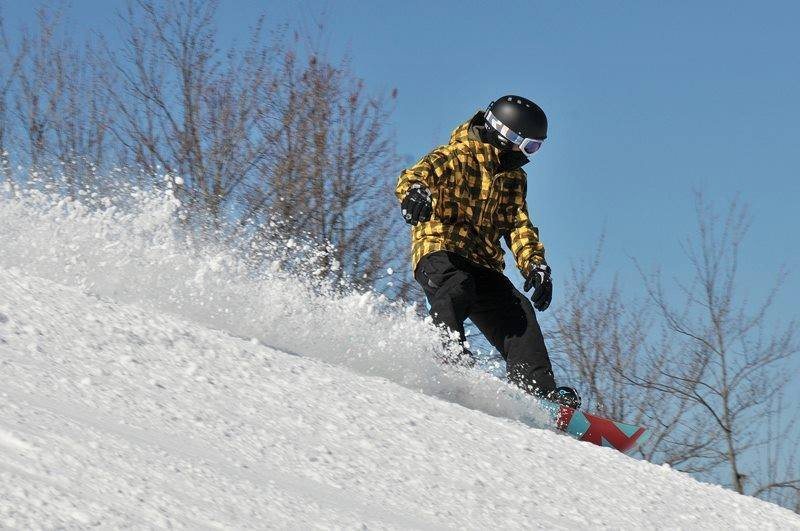 Great conditions at Winterplace with more snow on the way. - © Winterplace Ski Resort