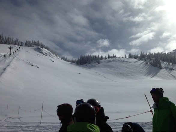 Best conditions in close to a decade....get here!!