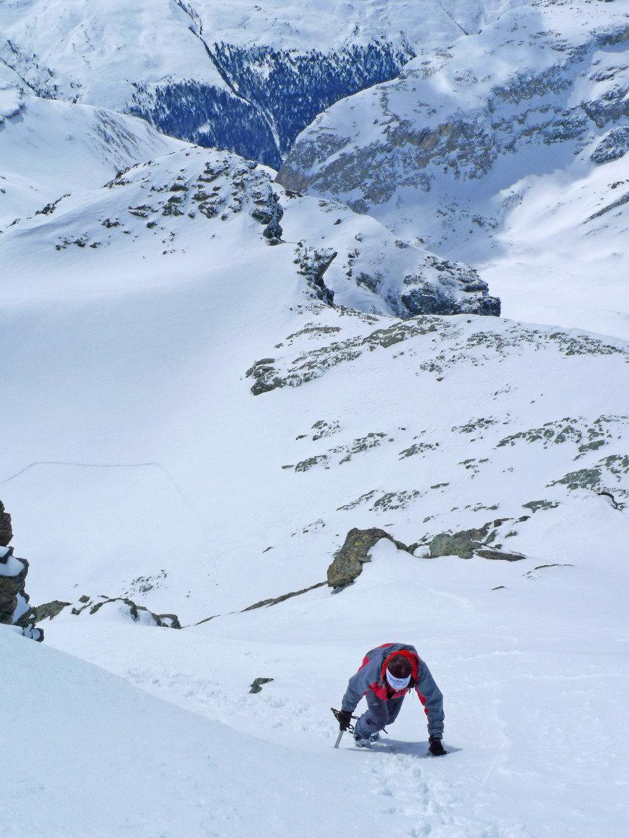 Der Aufstieg zum Piz Platta ist nur etwas für geübte Alpinisten - © SkitourGuru.com