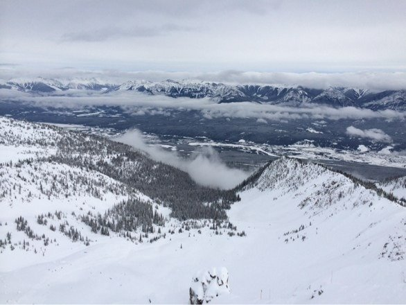 Pow for days. Fuez bowl is sick