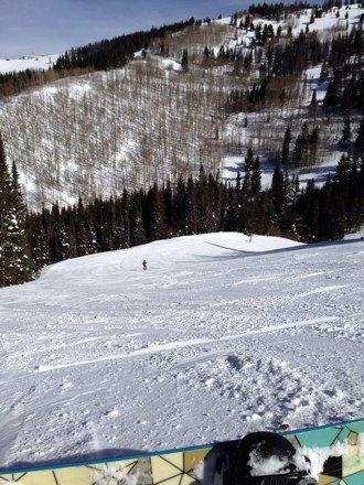 Pretty cool day today got some nice runs in today