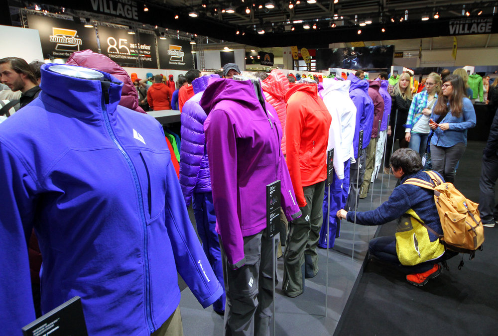 Black Diamond stand ISPO 2014 - © Skiinfo